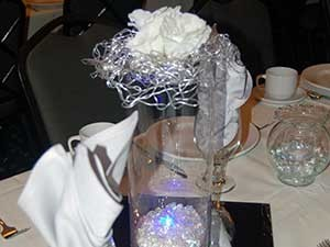 Centerpiece with Vase